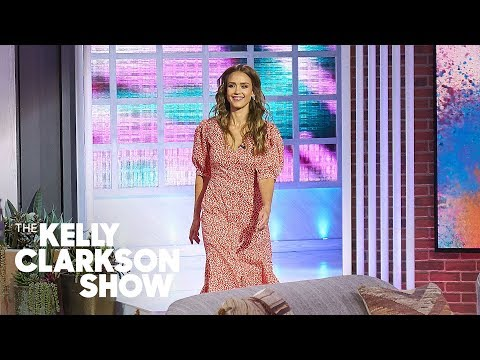 Jessica Alba Surprises New Mom With A Head-To-Toe Makeover  | The Kelly Clarkson Show thumbnail