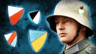 Что Означали Цветные Щиты На Немецких Шлемах?