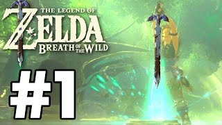 We Got The MASTER SWORD! - The Legend Of Zelda: Breath Of The Wild - Gameplay Part 1 (Switch)