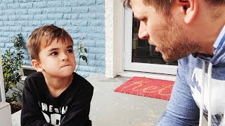 Threatening to Shoot Dad