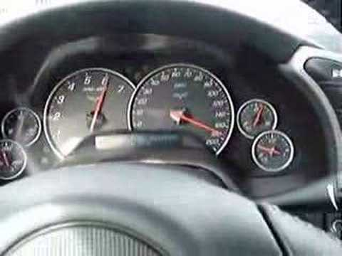CORVETTE C6 TOP SPEED