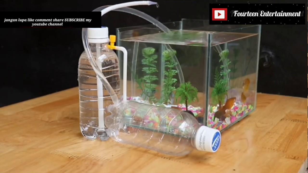 Pompa Air Energi Gratis Untuk AQUARIUM || DIY AQUARIUM ...