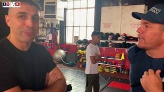 SPARRING DAY IN BOLTON: ALEX MATVIENKO IS JAMIE MOORE'S BIGGEST FAN | PLUS KOVALEV VS YARDE THOUGHTS