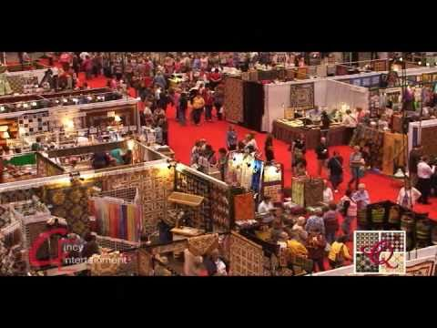 Cincy Entertainment at the International Quilt Convention