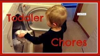 Teaching Toddlers To Help Around The House