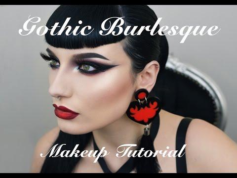 Gothic Burlesque Makeup Tutorial