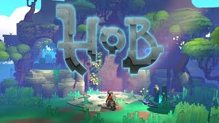 Hob PC Gameplay  Impressions #2 - Wall Busting Shenanigans!