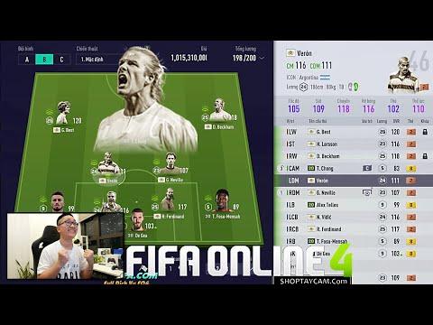 FIFA ONLINE 4: Quẩy Dàn Quỷ Đỏ ICON Max Ping & Lên Kèo VIET NAM Đại Chiến cùng Bạn Vodka Đô