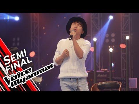 Nicholas Pasangma: ေရႊပင္လယ္ (Ngwe Yin Win & Yadanar Oo) | Semi Final - The Voice Myanmar 2019