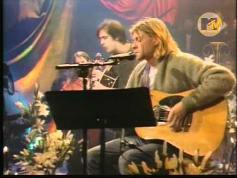 Nirvana - Polly (MTV Unplugged) (good quality)
