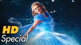 CINDERELLA Trailer, Filmclips & Making-Of Deutsch German (2015) Disney