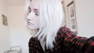 HOW TO GET WHITE/SILVER HAIR!  (+hair care)