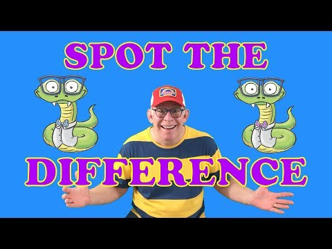 Spot The Difference Brain Games For Kids | Child-Friendly Puzzles And Brain Teasers