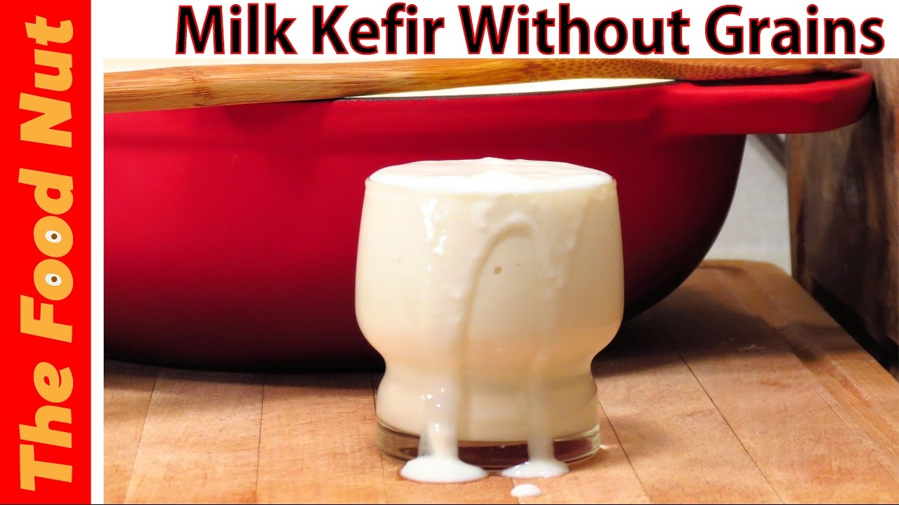how to make your own kefir without grains