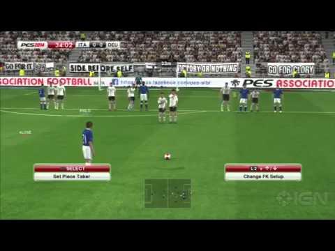 PES 2014 - Germany Vs Italy - Gameplay