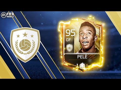 PELE IS FINALLY HERE!!! BRAND NEW ICONS!!! FIFA MOBILE