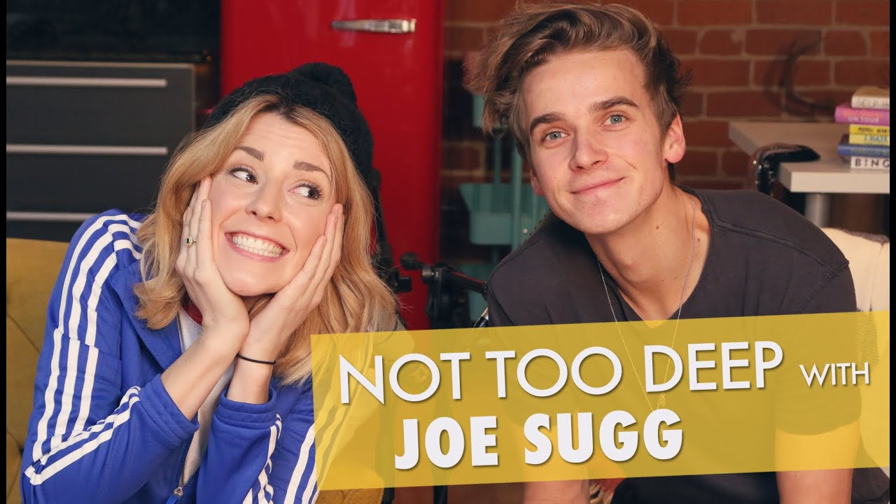 not too deep w joe sugg grace helbig youtube