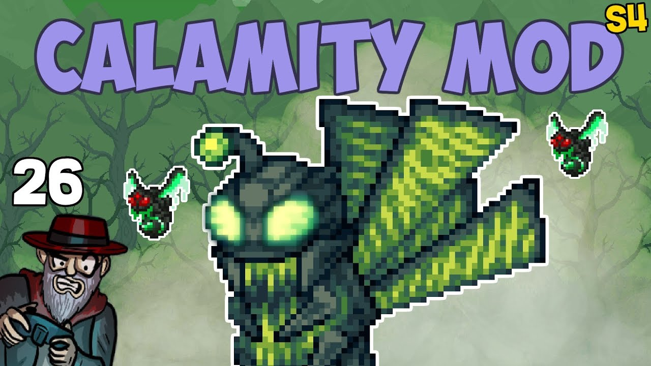 Terraria #26 POISON BEES! - 1 3 5 Calamity Mod S4 Let's Play