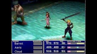 Final Fantasy VII Demo Playthrough