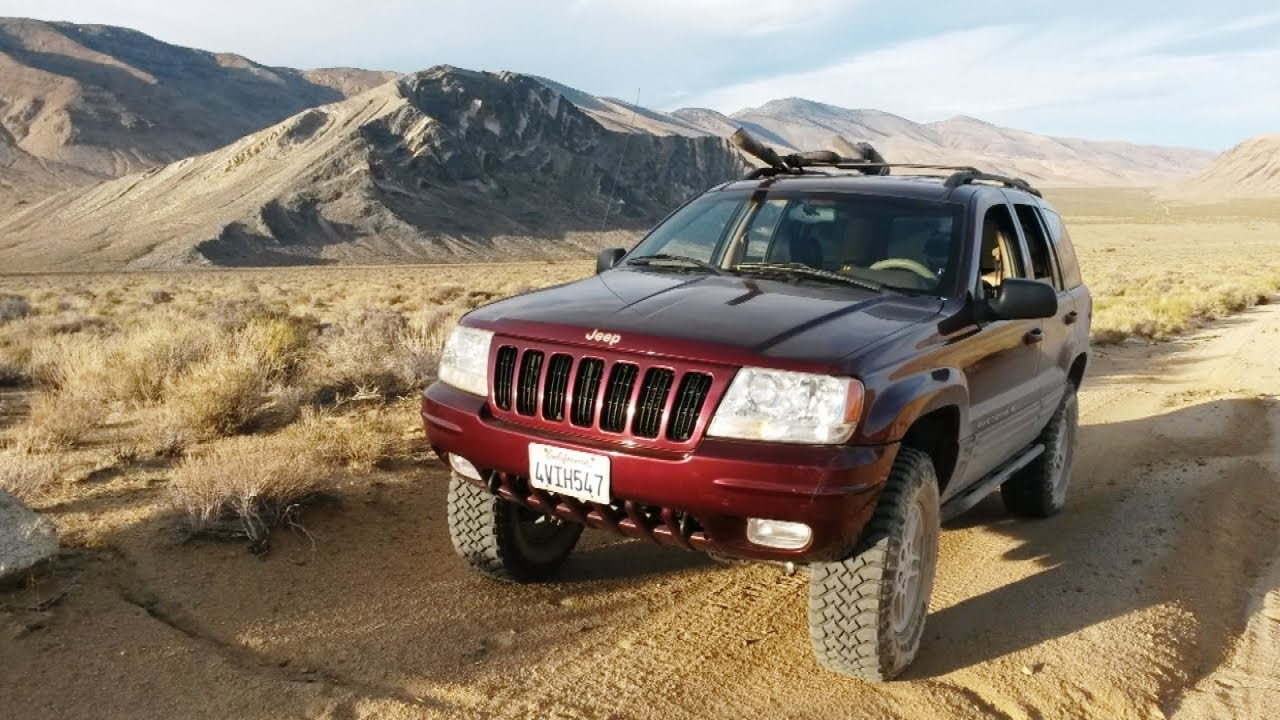 A Broken Jeep WJ And A Night In The Desert Off Road 4x4