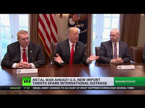 Trump's metal war: EU, Canada vow retaliation over US steel & aluminum tariffs