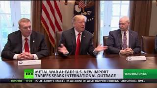 Trump's metal war: EU, Canada vow retaliation over US steel & aluminum tariffs