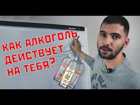 Как алкоголь влияет на твой  организм? Вся правда об алкоголе за одну минуту