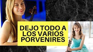 """Christian Quinones -""""DEJO TODO A LOS VARIOS PORVENIRES"""" for 2 violins"""