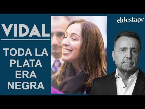 Vidal: toda la plata era negra   El Destape con Roberto Navarro EN VIVO