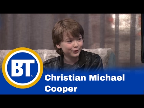 Christian Michael Cooper from Prison Break joins Dina!