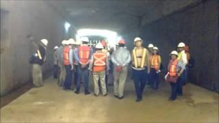 Así es por dentro el Túnel Sumergido de Coatzacoalcos