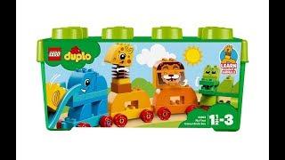 LEGO Duplo 10863 Коробка с кубиками Мои первые животные в магазине PLANETTOYS