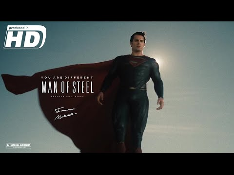 Man Of Steel - You Are Different  - Superman - Kal El - Motivational Video | HD