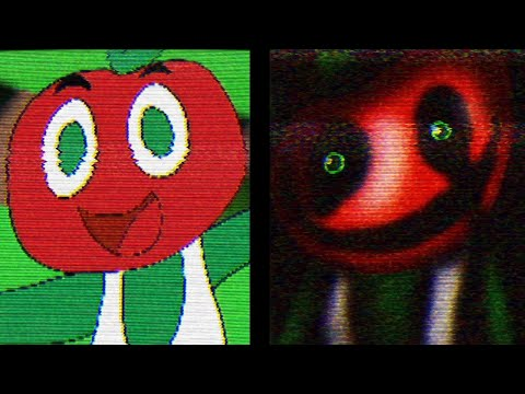 DO NOT PLAY THIS CURSED KIDS GAME.. STAY AWAY FROM THE APPLE. (TERRIFYING) - Andy's Apple Farm