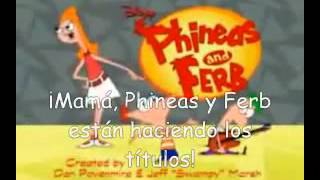 Mom! Phineas and Ferb are making a title sequence! In 32 languages
