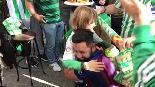 Barcelona-Betis: La Fiesta del Pequeño Aficionado Hugo
