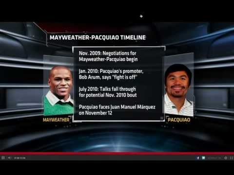 Mayweather Wants Pacquiao On May 5, 2012