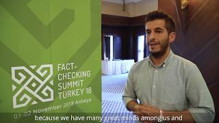 Interviews at the Fact-Checking Summit Turkey 18