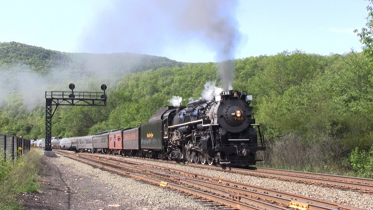 Nickel Plate Road 765: The Lehigh Gorge Special - YouTube