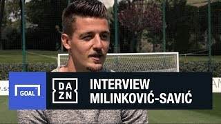Milinkovic-Savic: I learned so much from watching Ibrahimovic