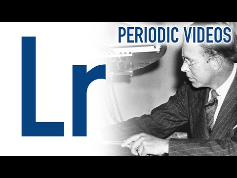 Lithium periodic table of videos ted ed lawrencium periodic table of videos urtaz