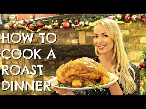 HOW TO COOK THE PERFECT ROAST DINNER WITH TOBY CARVERY  |  EMILY NORRIS  |  AD
