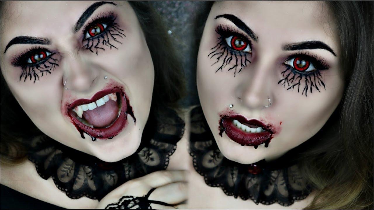 Vampire Diaries Inspired Vampire Makeup For Halloween ...