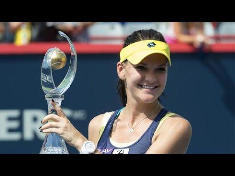 Agnieszka Radwanska Rogers Cup women's singles champions