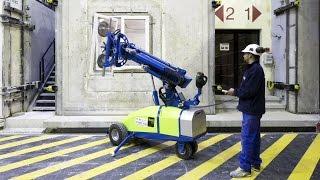 Robot de pose du laboratoire européen d'acoustique du CSTB
