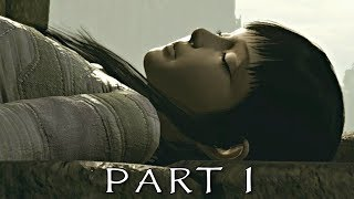 SHADOW OF THE COLOSSUS PS4 REMAKE Walkthrough Gameplay Part 1 - Valus