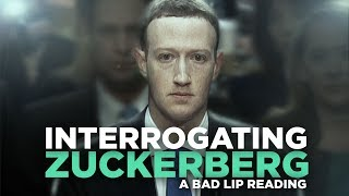 'INTERROGATING ZUCKERBERG' — A Bad Lip Reading