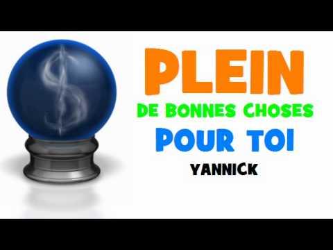 Joyeux Anniversaire Yannick Youtube
