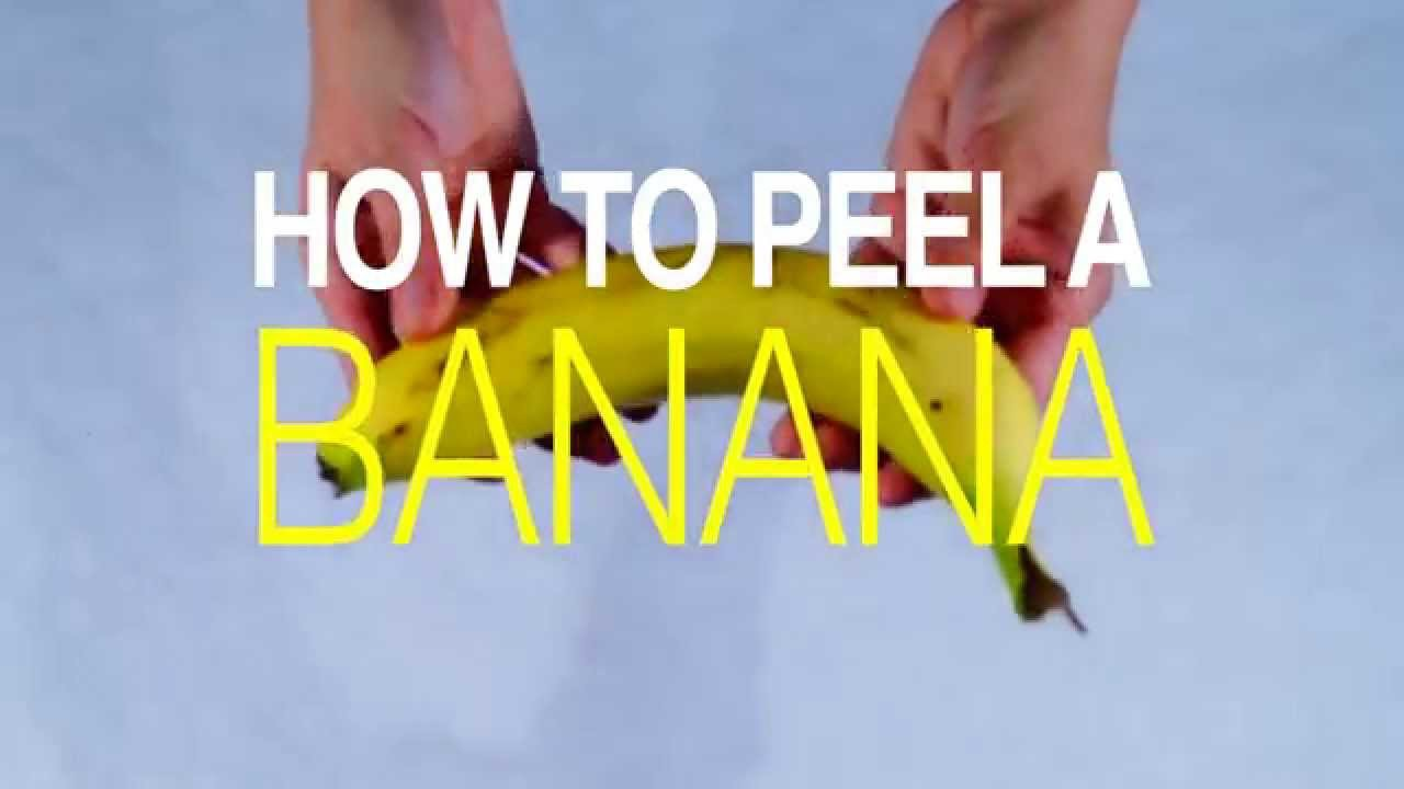 Download How to Peel a Banana The Right Way
