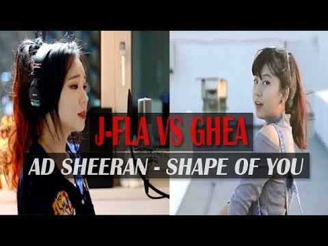 Ghea Indrawari ft JFla - Shape of You by Ed Sheeran [Cover]